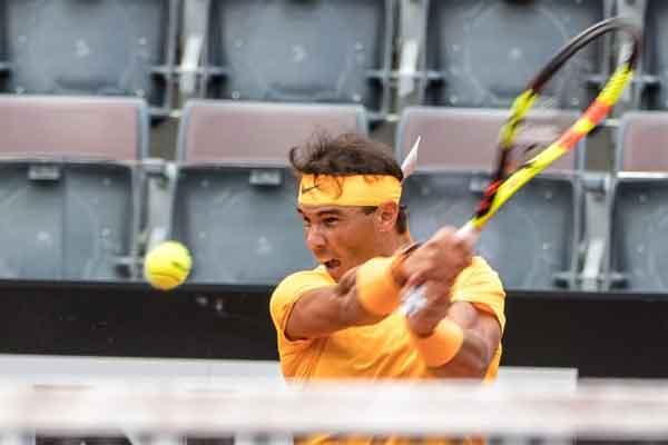 Grugnito tennis