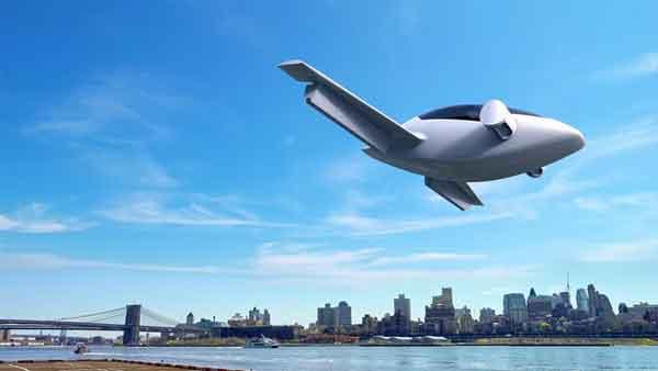 Lilium Jet taxi aereo