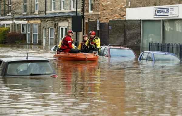 Inondazione Gran Bretagna
