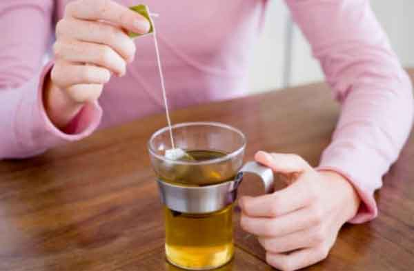 Bustine di tè plastica