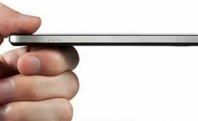 Smartphone sottile con scudo termico spessore 10 atomi