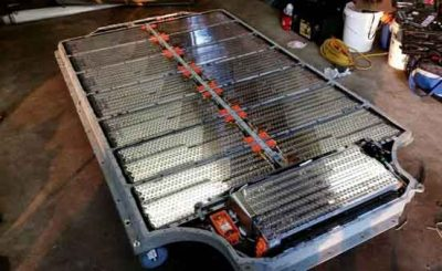 Batteria auto elettrica smaltimento