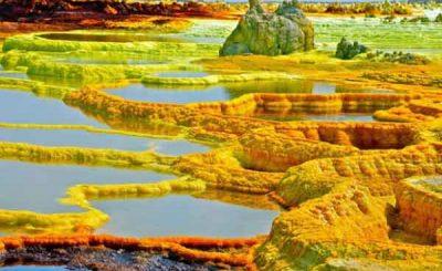 Paesaggio infernale di Dallol Etiopia