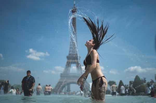 Parigi teleraffrescamento Torre Eiffel
