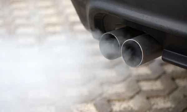 CO2 scarico gas veicoli