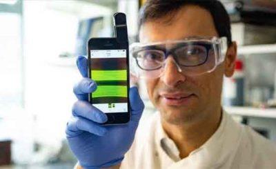 Nuno Reis infezioni urinarie rilevate da smartphone