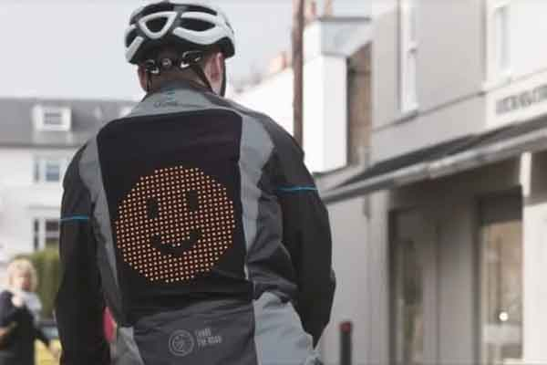 Share the Road giacca emoji