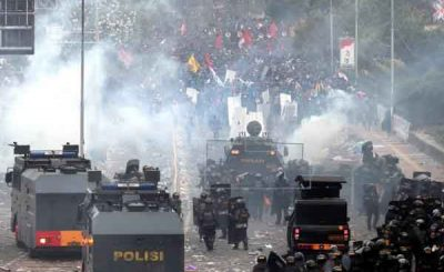 gas lacrimogeni