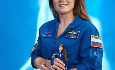 Anna Kikina astronauta russa bambola Barbie