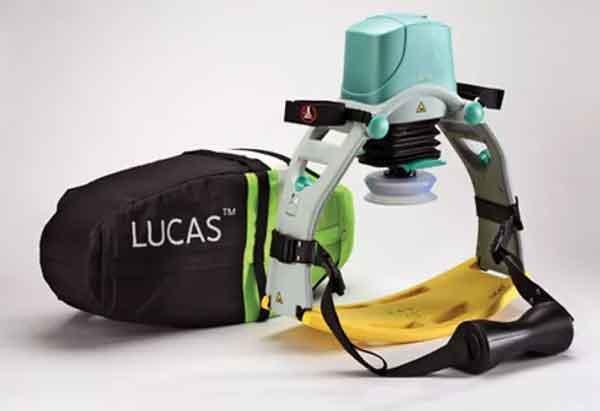 Lucas 3 - rianimazione cardiopolmonare (RCP)